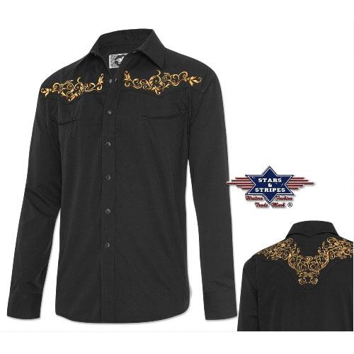 Košile STARS and STRIPES Durango Black 8d4b3aafdf