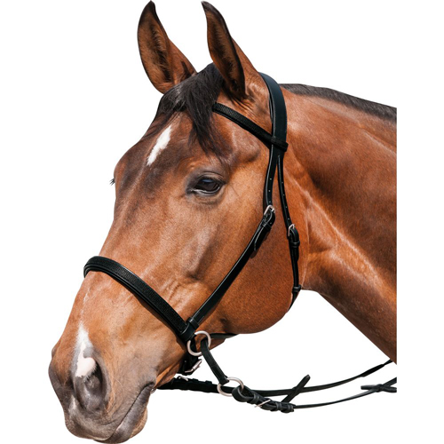 Bezudidlová uzdečka HORSE-FRIENDS 7a5a90fd21