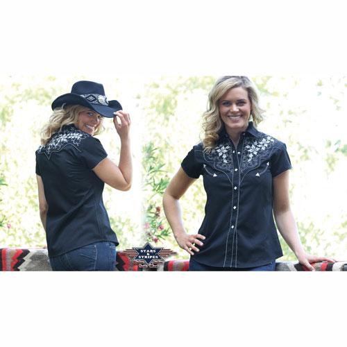 Westernová košile dámská Isabell f9cc4fdcd7