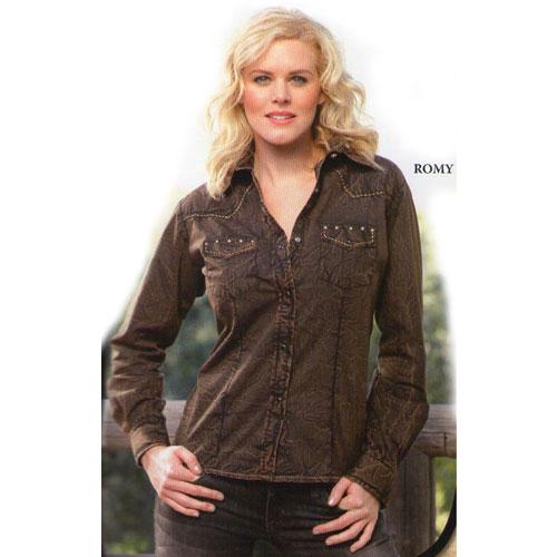 Westernová košile dámská STAR and STRIPES Romy 8063e5a3bf