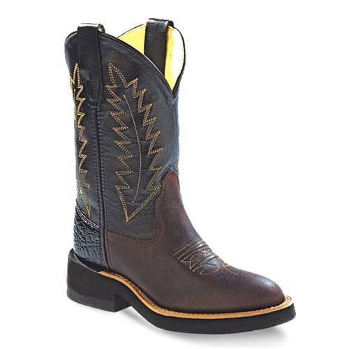 62137b6330d Westernové boty dětské vysoké OLD WEST 1606