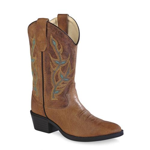 Westernové boty dětské vysoké OLD WEST 8122 817c0f74e7